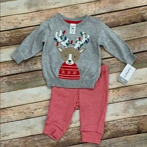 🎄NWT Carter's 2pc Christmas Outfit🎄